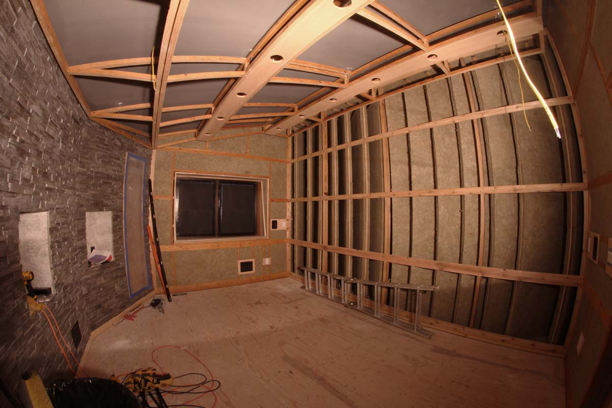 Caught On Camera My Recording Studio Build David Delbridge